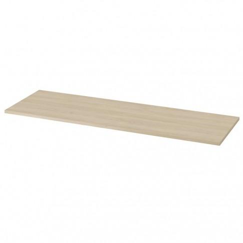 Blat pentru lavoar baie, Cersanit Moduo S590-027, stejar, PAL, 139.2 x 45 x 1.8 cm