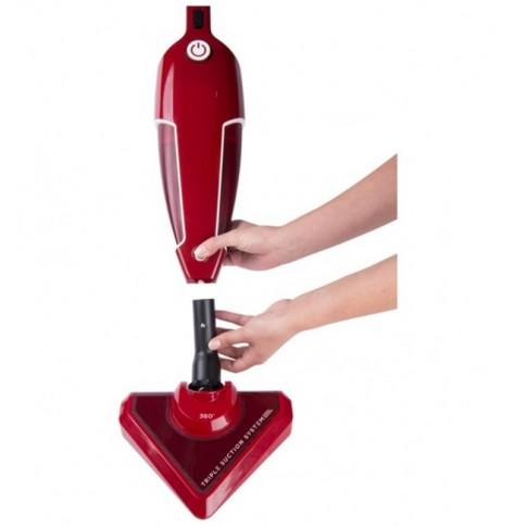 Aspirator vertical / de mana Studio Casa Tria Force 3 in 1, fara sac, aspirare uscata, filtru Hepa si microfiltru, maner ergonomic pliabil, 0.5 l, 850 W