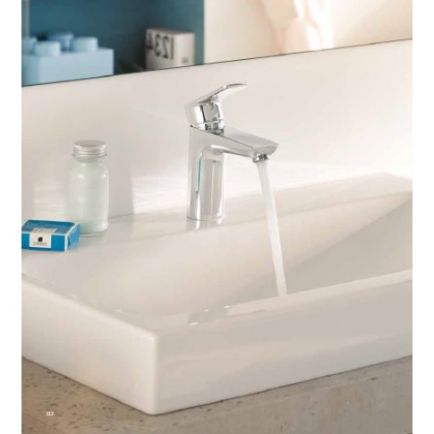 Baterie baie pentru lavoar, Kludi Pure & Style 402900575, montaj stativ, monocomanda, finisaj cromat