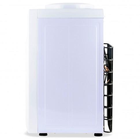Dozator de apa Zass ZTWD 13 C, putere incalzire 550 W, putere racire 90 W, indicatoare LED pentru apa calda si rece, termostat automat, alb + negru