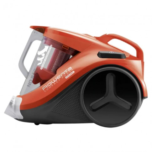 Aspirator Rowenta Compact Power Cyclonic RO3724EA, ciclonic, fara sac, aspirare uscata, filtru de inalta eficienta, 1.5 l, 750 W