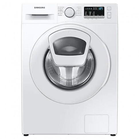 Masina de spalat rufe Samsung WW90T4540TE/LE, 9 kg, 1400 rpm, clasa D, adancime 55 cm, motor Digital Inverter, tehnologie Add Wash, program Hygiene Steam, program Drum Clean, sertar StayClean, alba