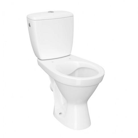Set compact WC + rezervor + mecanism + capac, Cersanit Cersania K11-2337, din ceramica, 36 x 67.5 x 77 cm
