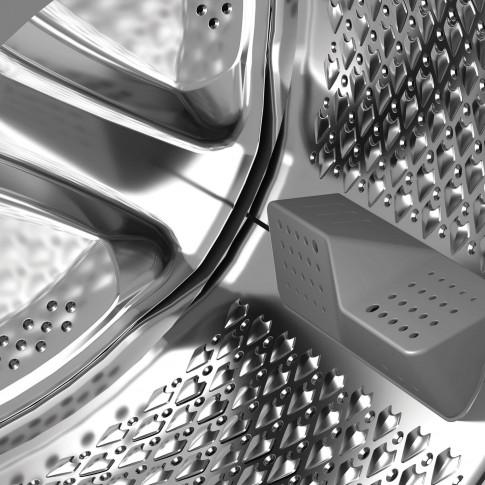 Masina de spalat rufe Beko WUE8736CST, 8 kg, 1400 rpm, clasa A+++, adancime 55 cm, tehnologie HomeWhiz, motor ProSmart Inverter, tehnologie SteamCure, sistem Aquawave, functie AddXtra, curatare tambur, alba