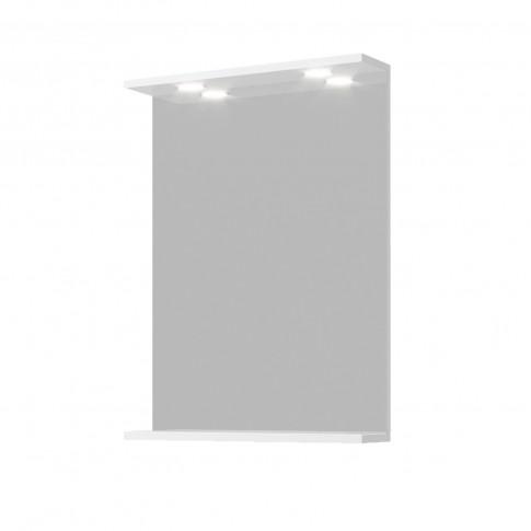 Oglinda baie Savini Due Moon 900/LED, cu iluminare, 52 x 67.8 x 12.5 cm