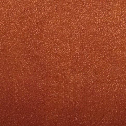 Scaun bucatarie / living fix Bistro, tapitat, otel cromat + imitatie piele maro deschis, 3C