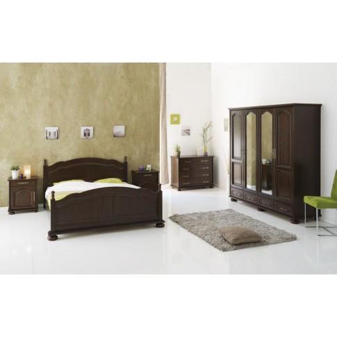 Pat dormitor Berry, matrimonial, nuc, 160 x 200 cm, 2C