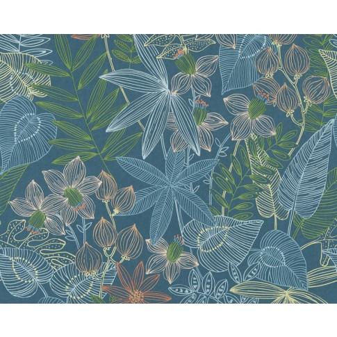 Tapet vlies, model floral, AS Creation SN4 366301, 10 x 0.53 m