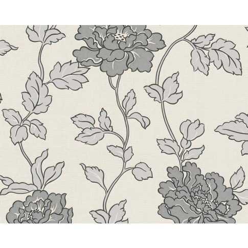 Tapet hartie, model floral, AS Creation SN4 366951, 10 x 0.53 m