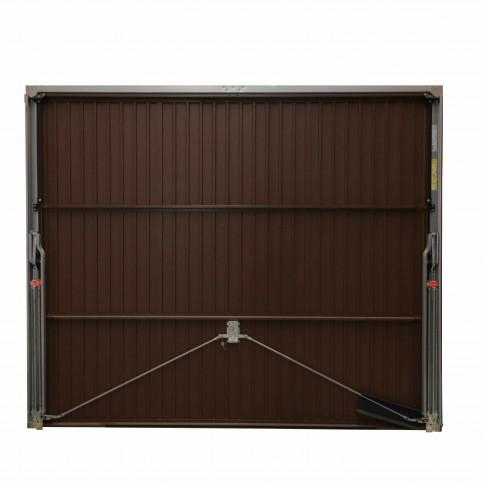 Usa garaj basculanta Hormann Light GSL, maro (RAL 8028), 2500 x 2125 mm