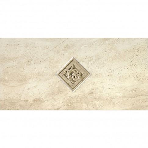 Decor faianta baie / bucatarie Salonika lucios crem 29 x 59.3 cm