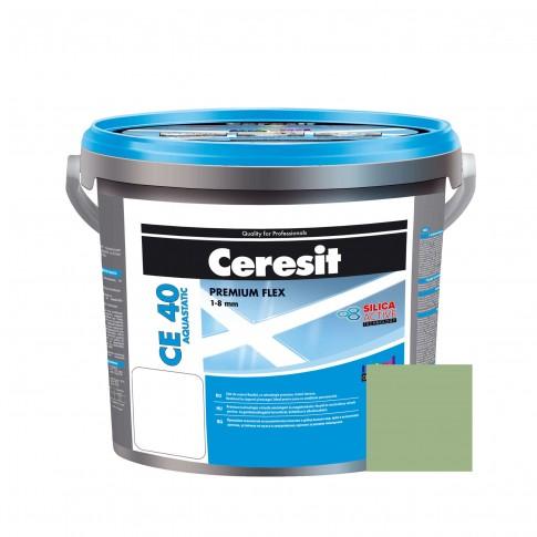 Chit de rosturi gresie si faianta Ceresit CE 40, kiwi, interior / exterior, 5 kg