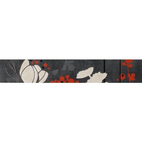 Brau faianta Lazio Metal antracit lucios 7 x 40 cm