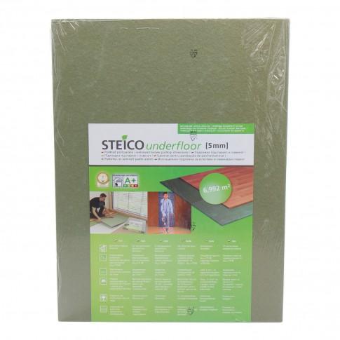 Placa fibre lemn pentru izolatie parchet, Substrat Steico, 5 mm, 0.79 x 0.59 m