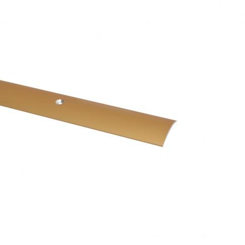 Profil aluminiu de trecere, SET S03 auriu 2.7 m
