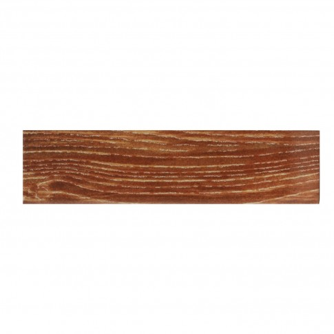 Plinta gresie ceramica R512 Madera, lucioasa, maro, 8 x 31.6 cm