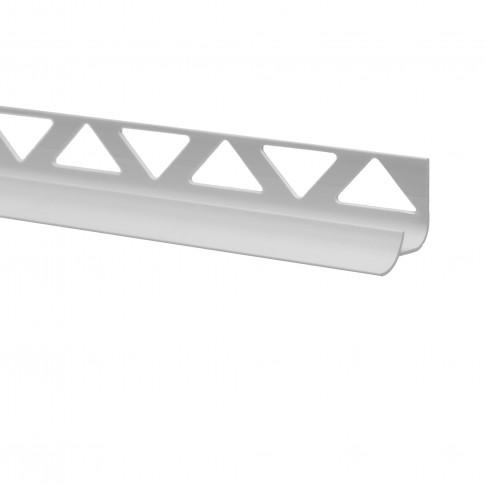 Profil PVC pentru colt interior, SET 32151, alb, 10 mm, 2.5 m