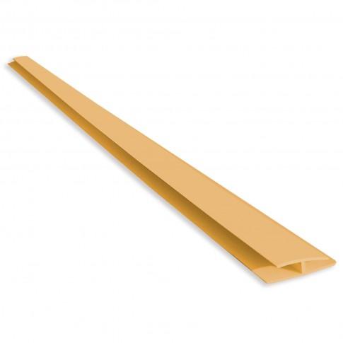 Profil de imbinare H Vilo 013, PVC, pin, 3 m