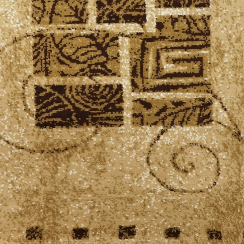 Covor living / dormitor Sintelon Practica 52EDE polipropilena BCF dreptunghiular crem 70 x 140 cm
