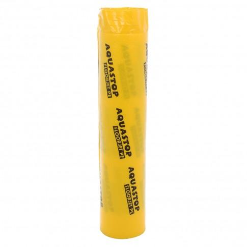 Folie parchet PEE Aquastop polietilena laminata cu film, 3 mm, 25 x 1 m
