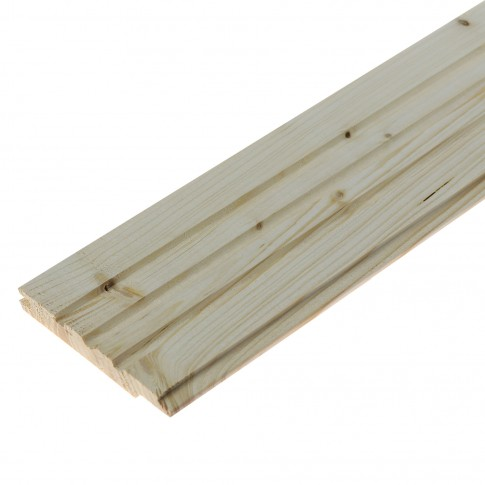 Lambriu lemn, rasinoase, interior 2000 x 96 x 12.5 mm