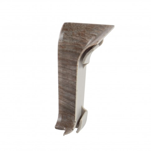 Colt interior pentru plinta Vilo Flex 553, stejar argintiu, 55 x 22 mm, 2 buc/set