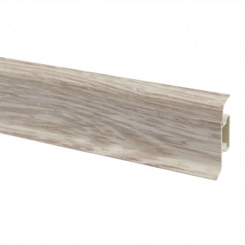 Plinta parchet PVC 10456-4305 canal frasin 2500 x 52 x 22 mm