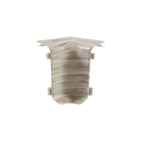 Colt interior pentru plinta Set 10456-4305 frasin 52 x 22 mm 4 buc/set