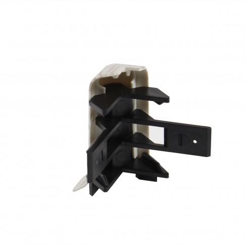 Colt exterior pentru plinta SET 10456-4305 frasin  52 x 22 mm 2 buc/set