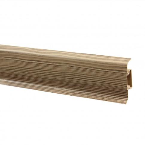 Plinta parchet PVC 10456-3131 canal olive 2500 x 52 x 22 mm