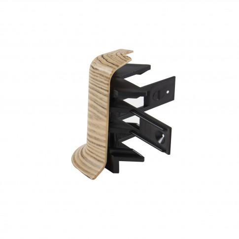 Colt exterior pentru plinta SET 10456-3131 olive 52 x 22 mm 2 buc/set