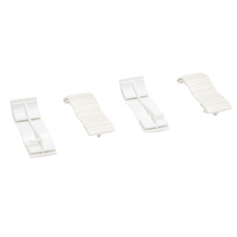 Element imbinare pentru plinta Volkas VKP 53.01 alb 53 x 15 mm 4 buc/set
