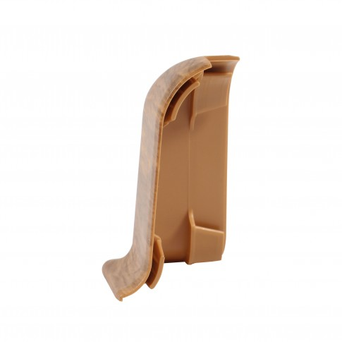 Colt exterior pentru plinta Vilo Flex 537, stejar boieresc, 55 x 22 mm, 2 buc/set