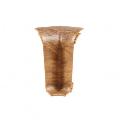 Colt interior pentru plinta Vilo Flex 537, stejar boieresc, 55 x 22 mm, 2 buc/set