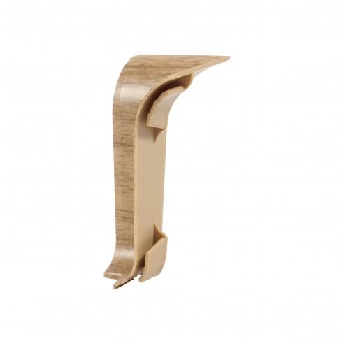 Colt interior pentru plinta Vilo Flex 521, stejar antic, 55 x 22 mm, 2 buc/set