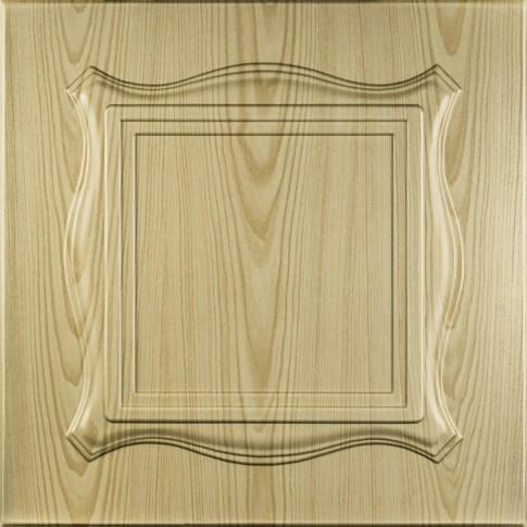 Tavan fals decorativ, polistiren extrudat, C1004, clasic, pin, 50 x 50 x 0.3 cm