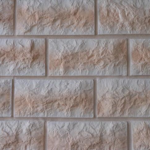 Piatra decorativa, interior / exterior, Modulo Building Flamme, beige deschis (cutie = 0.73 mp)