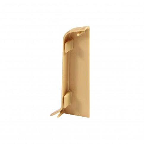 Terminatie pentru plinta, stanga / dreapta, SET 10456-8625, PVC, stejar ardennes, 52 x 22 mm, 2 buc / set