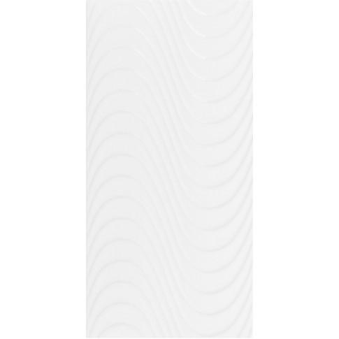 Faianta baie / bucatarie Ege alba lucioasa 20 x 40 cm
