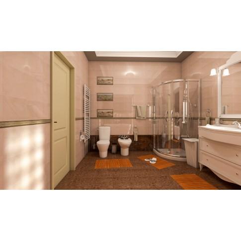 Faianta baie / bucatarie Odesa crem lucioasa 25 x 50 cm