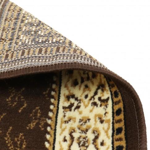 Covor living / dormitor Oriental Weavers Pronto D 316/88 polipropilena BCF dreptunghiular maro 80 x 140 cm