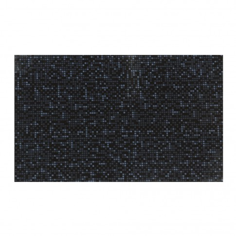 Faianta baie / bucatarie Inci, neagra, lucioasa, 25 x 40 cm