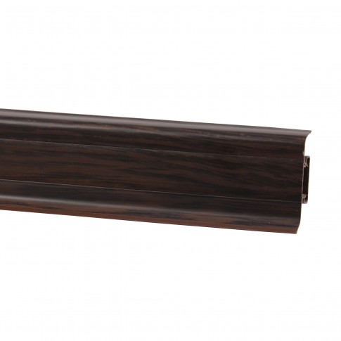 Plinta parchet PVC 10456-8699 canal wenge deschis 2500 x 52 x 22 mm