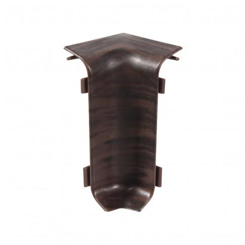 Colt interior pentru plinta Set 10456-8699 wenge deschis 52 x 22 mm 4 buc/set