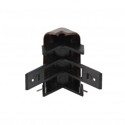 Colt exterior pentru plinta SET 10456-8699 wenge deschis 52 x 22 mm 2 buc/set