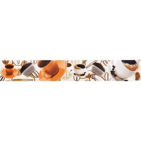 Brau faianta Creta DV-259 crem lucios 6 x 40 cm