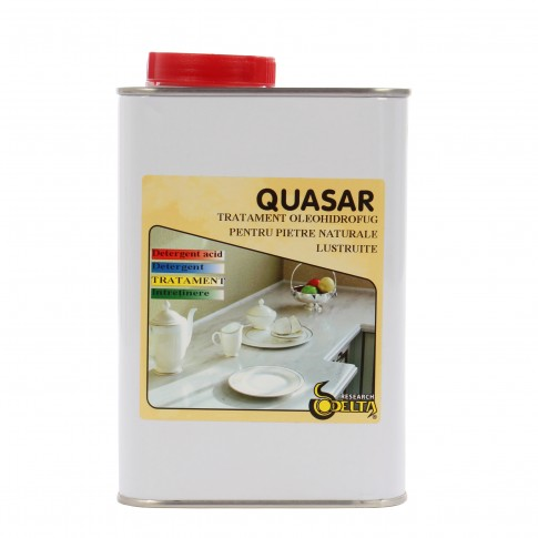 Impermeabil pentru piatra lucioasa, Quasar, 1 L