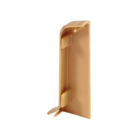 Terminatie pentru plinta, stanga / dreapta, SET 10456, PVC, cires nou, 52 x 22 mm, 4 buc / set