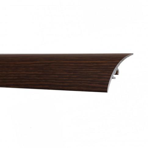 Profil de trecere diferenta nivel din aluminiu S65, latime 49 mm, wenge, 93 cm