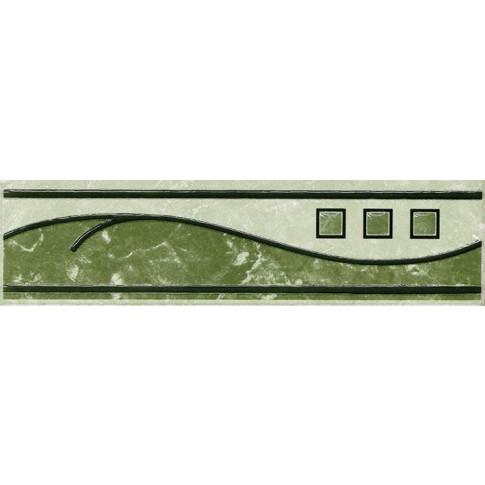 Brau faianta Florence 2502-0914 verde lucios 6.5 x 25.2 cm